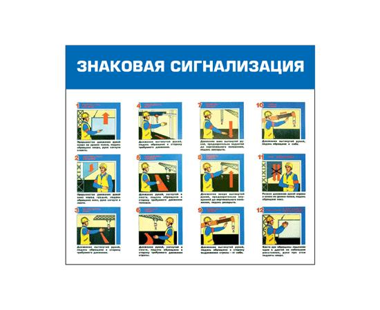 Стенд Знаковая сигнализация, фото 1