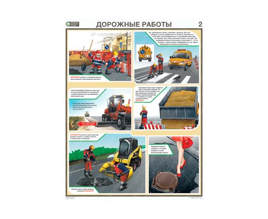 Плакаты Дорожные работы, фото 2