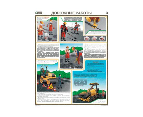 Плакаты Дорожные работы, фото 3